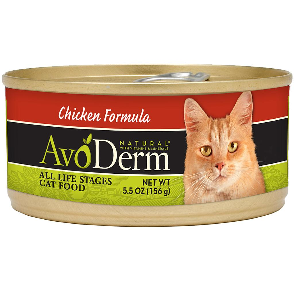 Avoderm Cat chicken canned (5.5 oz)