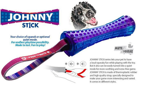 Gigwi Small Johnny Stick with purple mix blue color