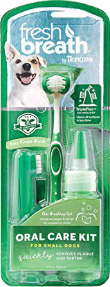Fresh Breath Oral Care Kit for Dogs (1set)